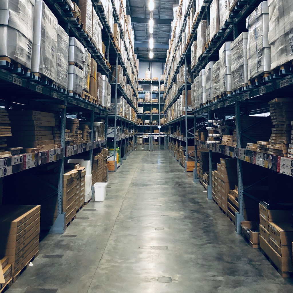 Typical warehouse